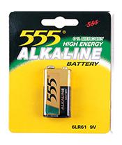 6LR61 ALKALINE BATTERIES