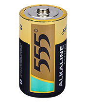 D SIZE LR20 ALKALINE BATTERIES AM-1