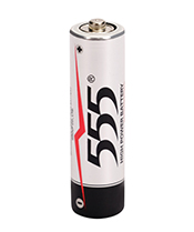 AA HEAVY DUTY CARBON ZINC BATTERY R6P EXTRA HIGH POWER ALUMINUM JACKET