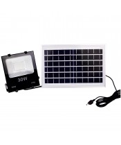 LED SOLAR EMERGENCY FLOOD LIGHT